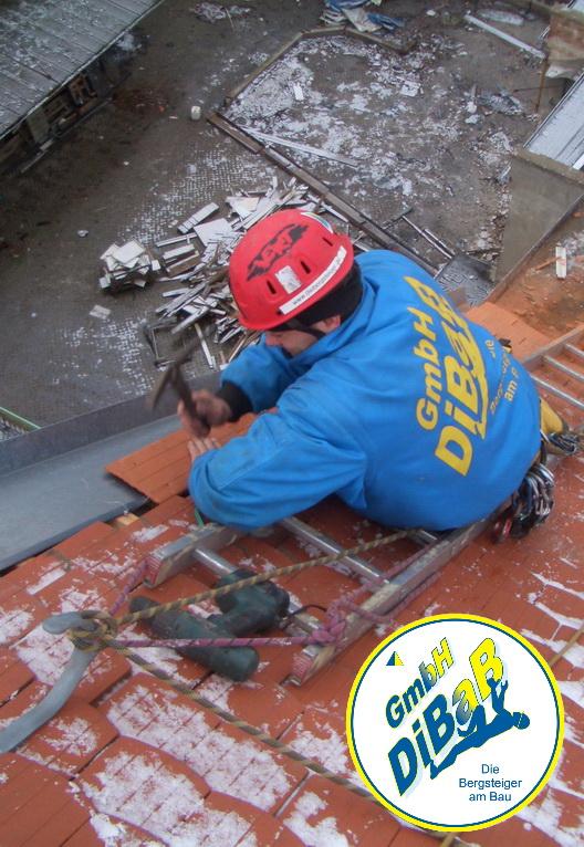 Dacharbeit im Winter 022