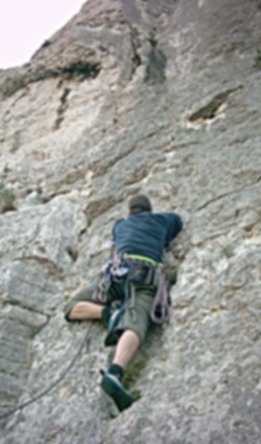 Bergsteiger Training der DiBaB GmbH im Gebiet Cassis