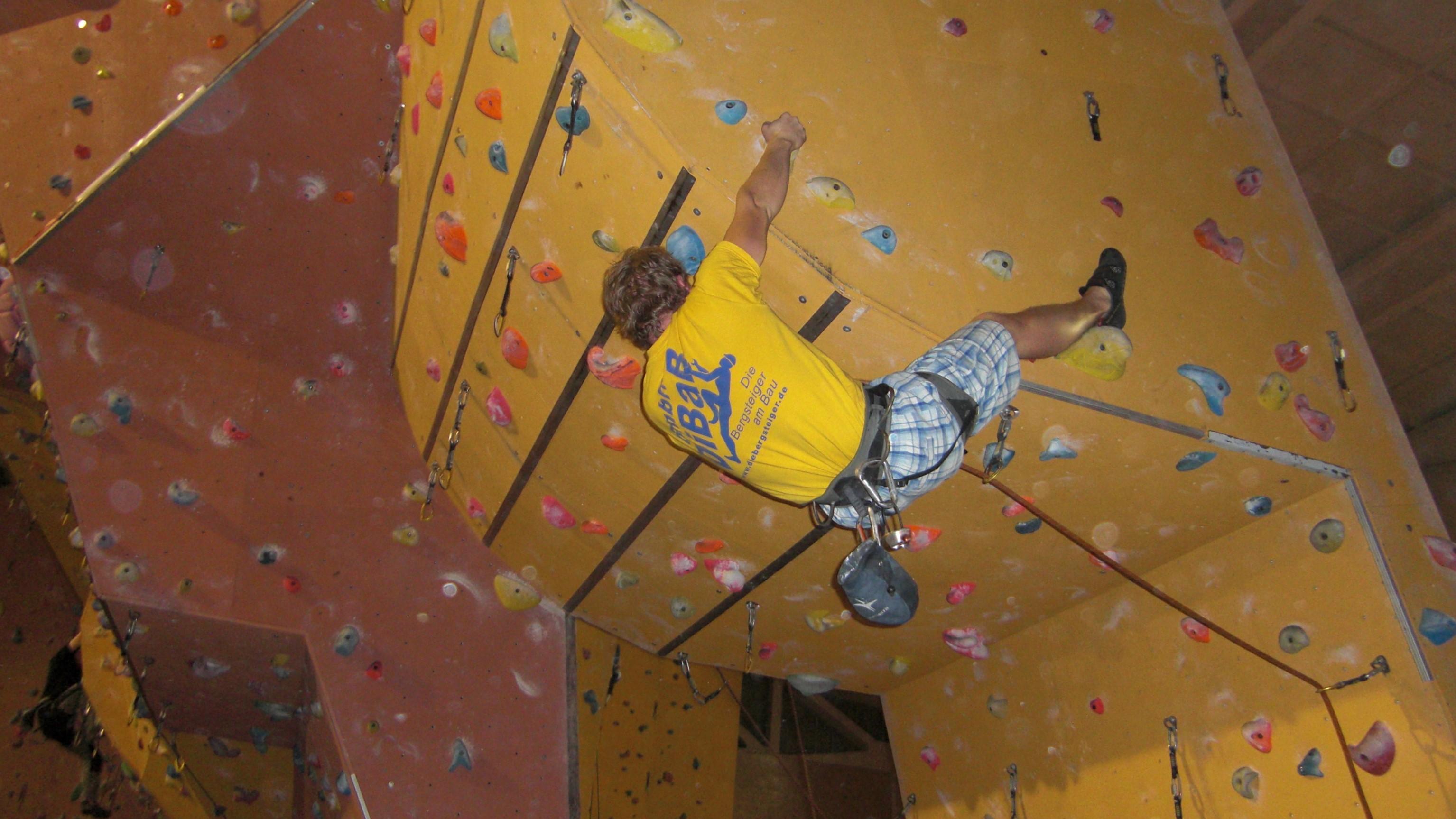 DiBaB Höhenarbeiter Klettertraining