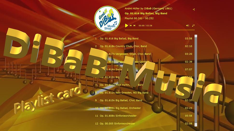 Playlist 00.241-00.252, DiBaB Music Shop