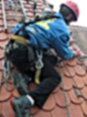 Dachreparatur auf Kirche durch DiBaB GmbH dachnotdienst.de