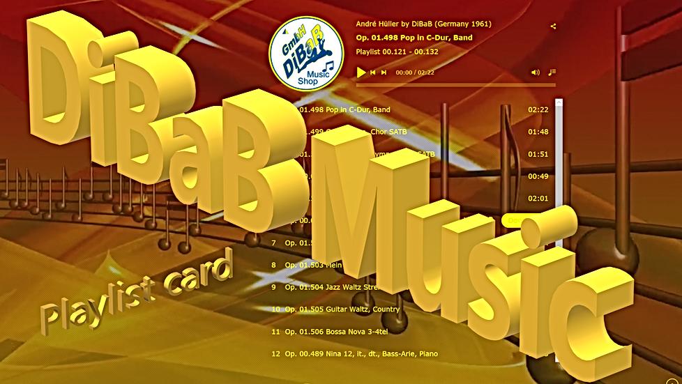 Playlist 00.121-00.132, DiBaB Music Shop