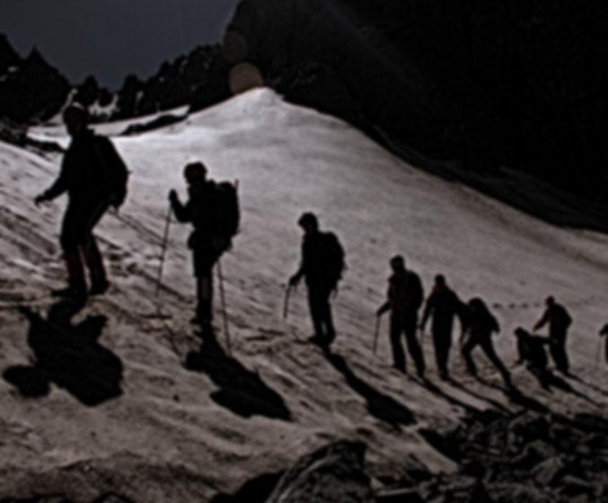 Bergsteigen im Hochgebirge