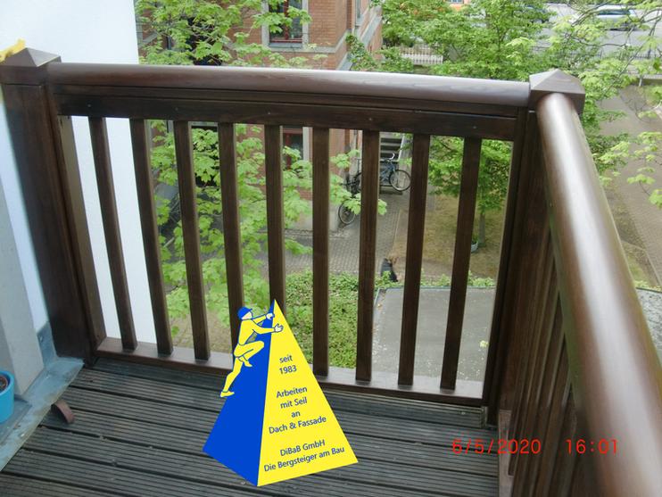 Balkonarbeiten ohne Gerüst Dresden