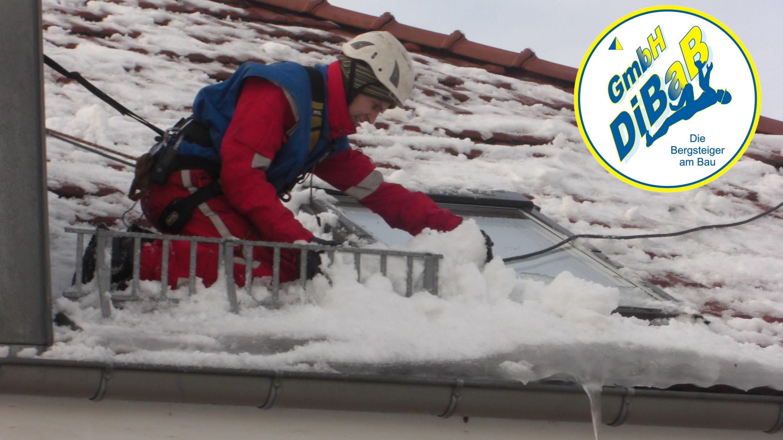 Dacharbeit im Winter 030