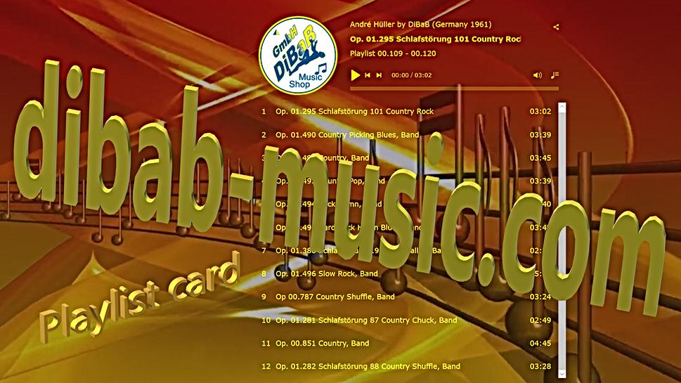 Playlist 00.109-00.120, DiBaB Music Shop