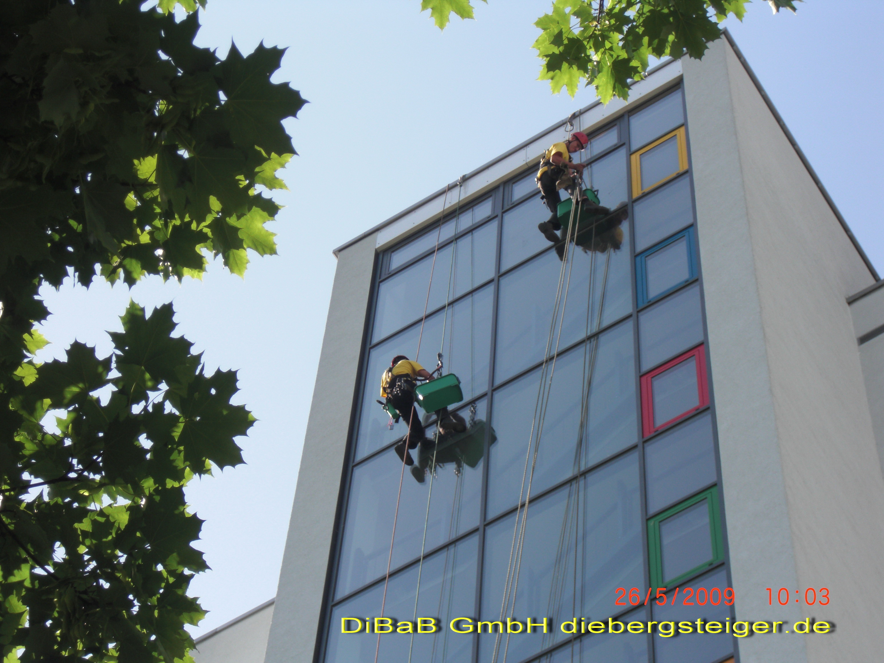 Industriekletterer Dresden I DiBaB