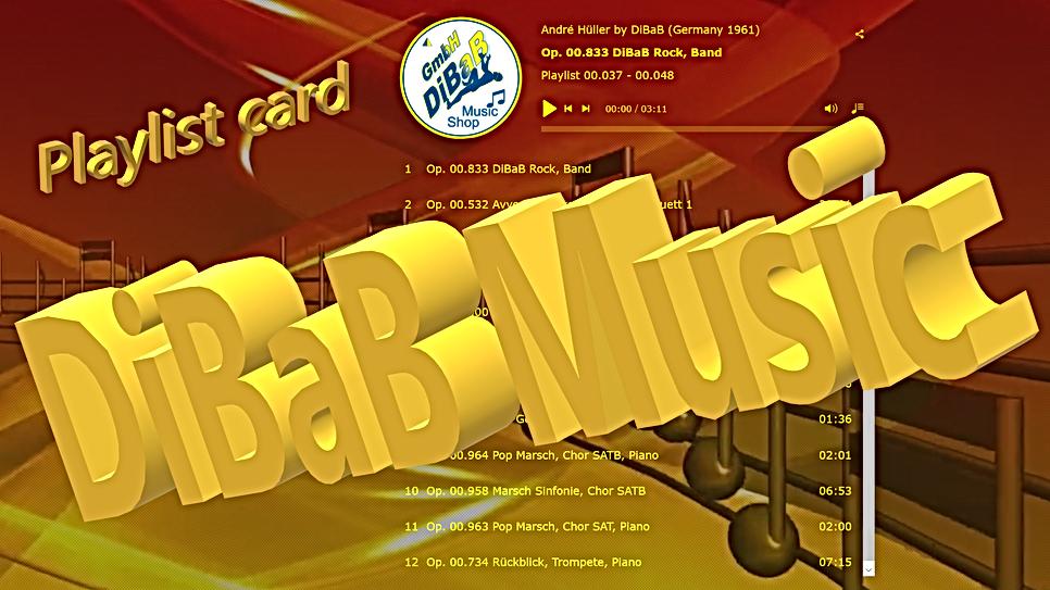 Playlist 00.037-00.048, DiBaB Music Shop