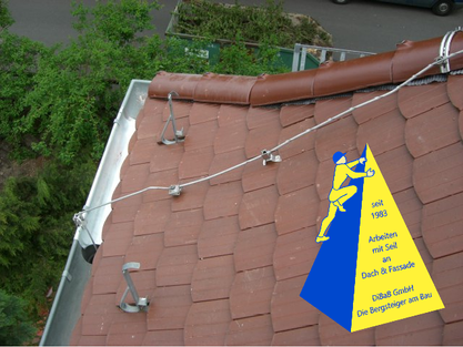 Dachreparatur, Dachsteiger, Dacharbeiten, Dachrinnenreinigung, Dachdecker, Bergsteiger, Dresden, Freital, Radebeul, DiBaB GmbH
