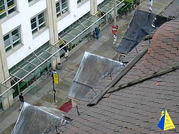Dachschaden Dresden, Dachsteiger Dresden