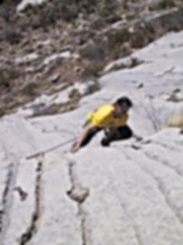 Bergsteiger Training der DiBaB GmbH im Klettergebiet Céüse