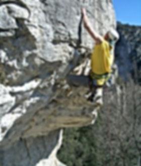 Bergsteiger Training der DiBaB GmbH im Gebiet Chateauvert