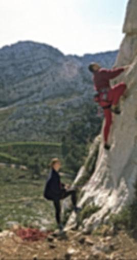 Ute & Andre Hüller beim Training der DiBaB GmbH die Bergsteiger am Bau