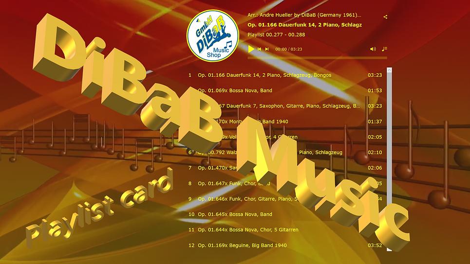 Playlist 00.277-00.288, DiBaB Music Shop
