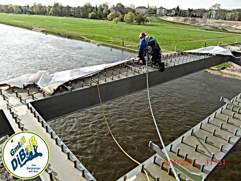 Brückenarbeiten ohne Gerüst Dresden