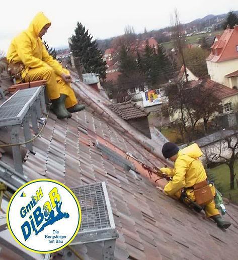 Dachschaden | Dresden | DiBaB GmbH Die Bergsteiger am Bau