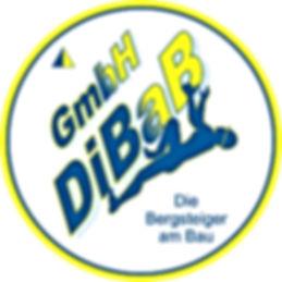 Logo-Kreis der DiBaB GmbH die Bergsteiger am Bau