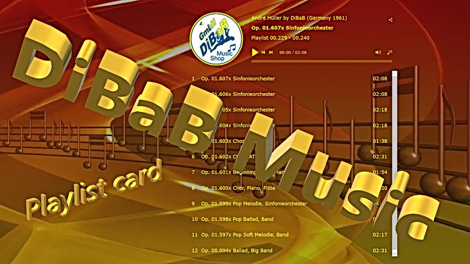 Playlist 00.229-00.240, DiBaB Music Shop