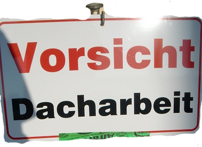 Dachreparatur, Dresden, Dachsteiger, Bergsteiger, Dachdecker, Dachschaden, Dachrinnenreinigung