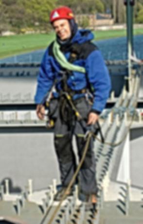 Industriekletterer Dresden I DiBaB GmbH die Bergsteiger am Bau