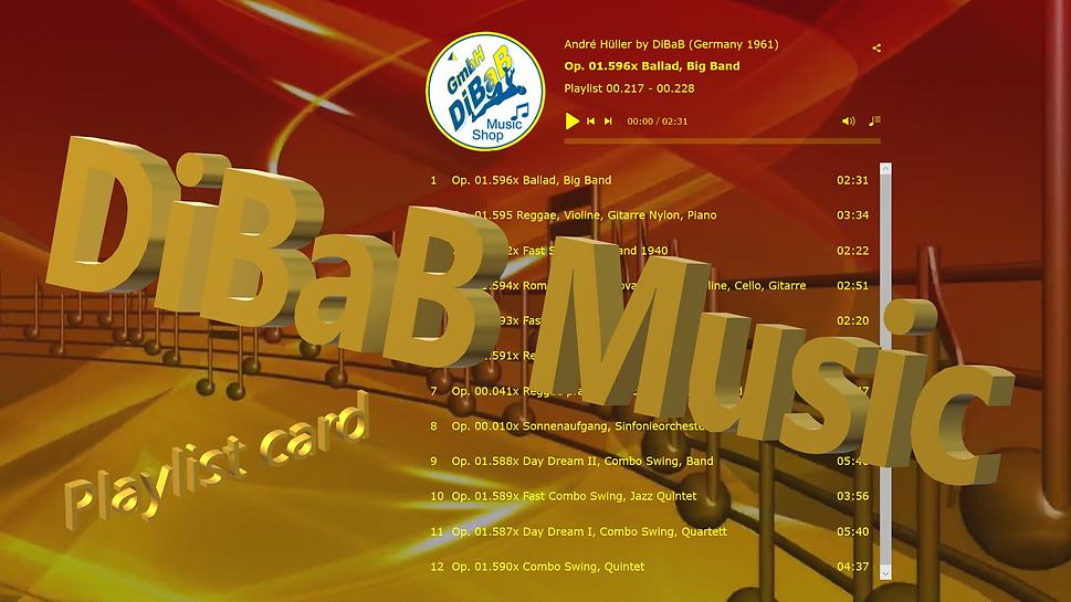 Playlist 00.217-00.228, DiBaB Music Shop