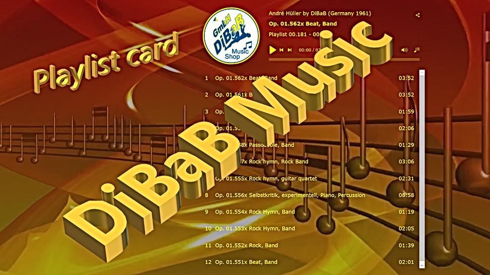 Playlist 00.181-00.192, DiBaB Music Shop