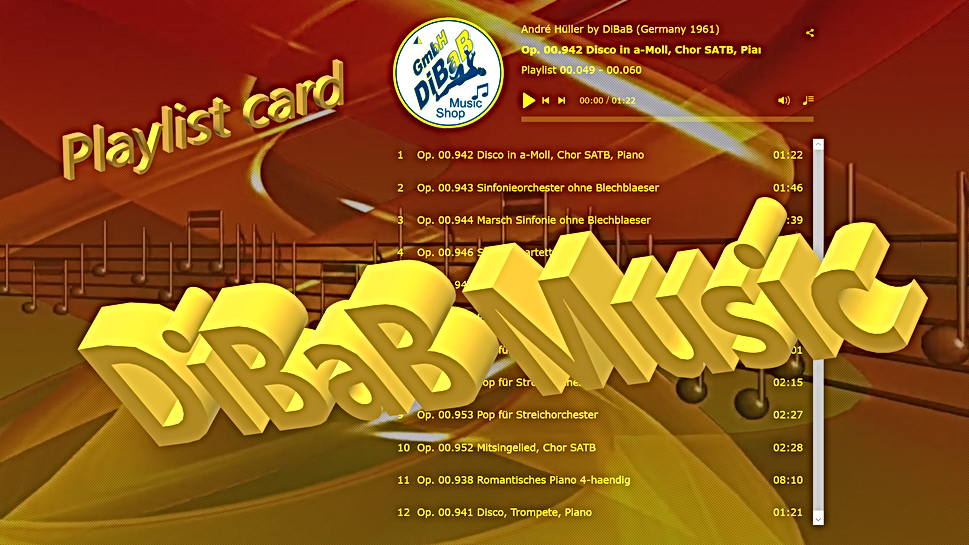 Playlist 00.049-00.060, DiBaB Music Shop