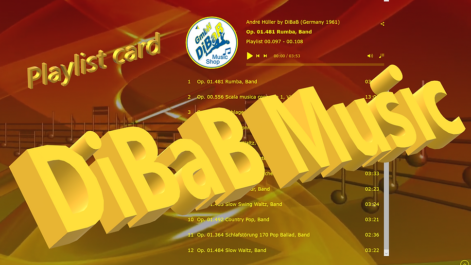 Playlist 00.097-00.108, DiBaB Music Shop