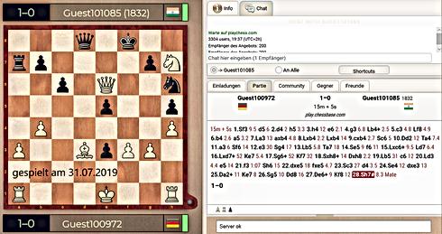 20190731 Matt mit Weiß gegen Elo 1832_mi