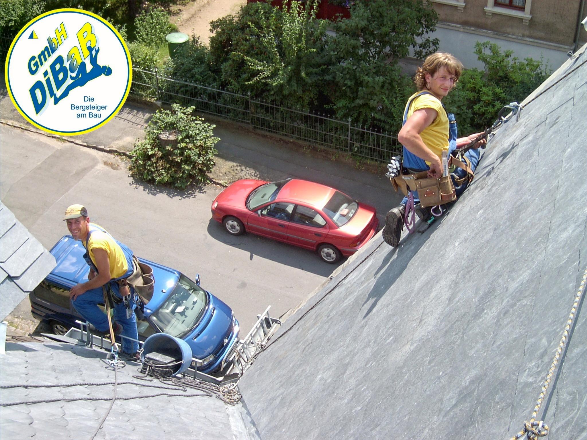 Dach, Reparatur, Steiger, Reinigung