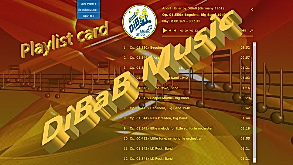 Playlist 00.169-00.180, DiBaB Music Shop