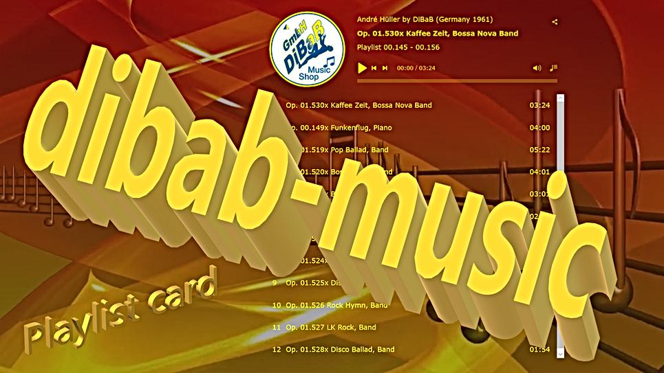Playlist 00.145-00.156, DiBaB Music Shop