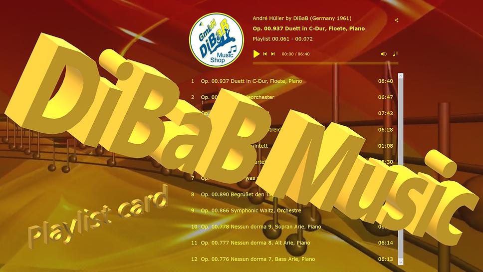 Playlist 00.061-00.072, DiBaB Music Shop