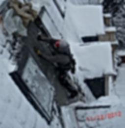 Dachnotdienst im Winter DiBaB GmbH die Bergsteiger am Bau