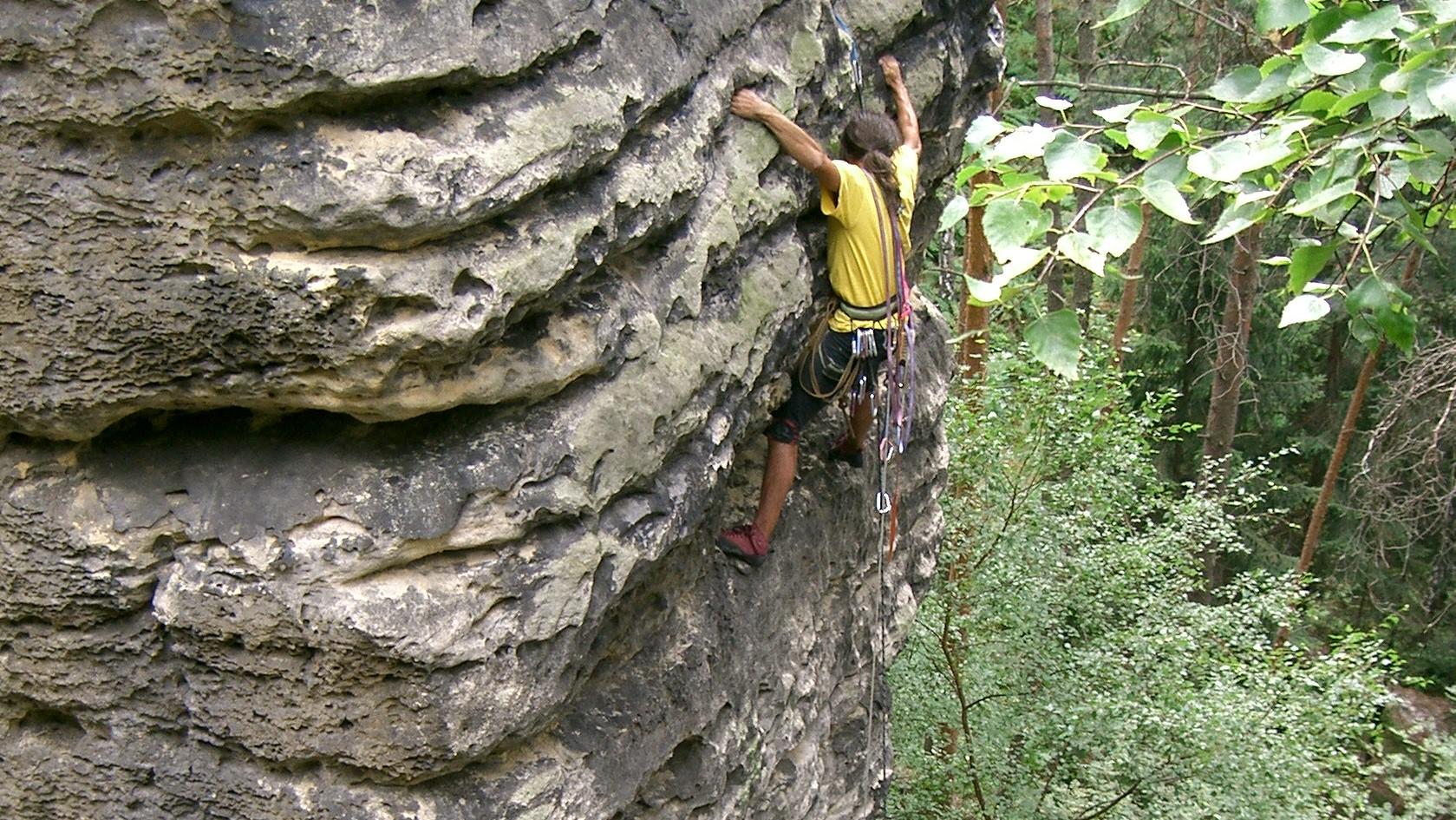 DiBaB Höhenarbeiter am Fels