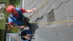 DiBaB Dacharbeiten ohne Gerüst
