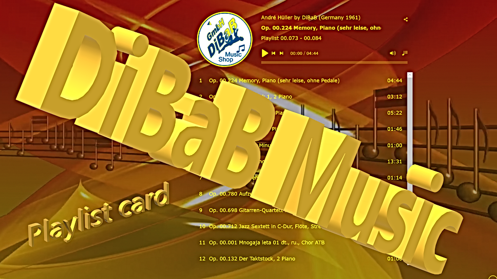Playlist 00.073-00.084, DiBaB Music Shop