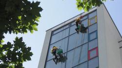 Glasfassadenreinigung Alpintechnik