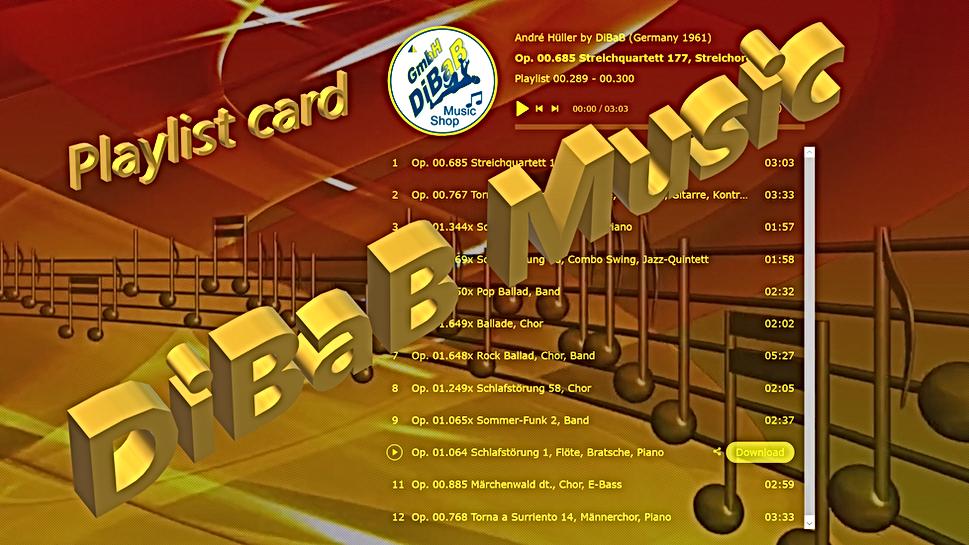 Playlist 00.289-00.300, DiBaB Music Shop