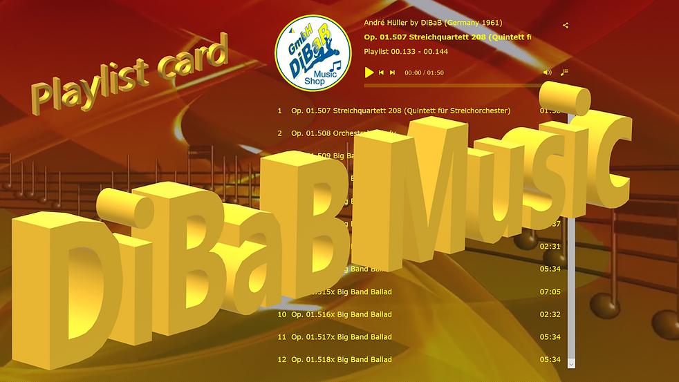 Playlist 00.133-00.144, DiBaB Music Shop