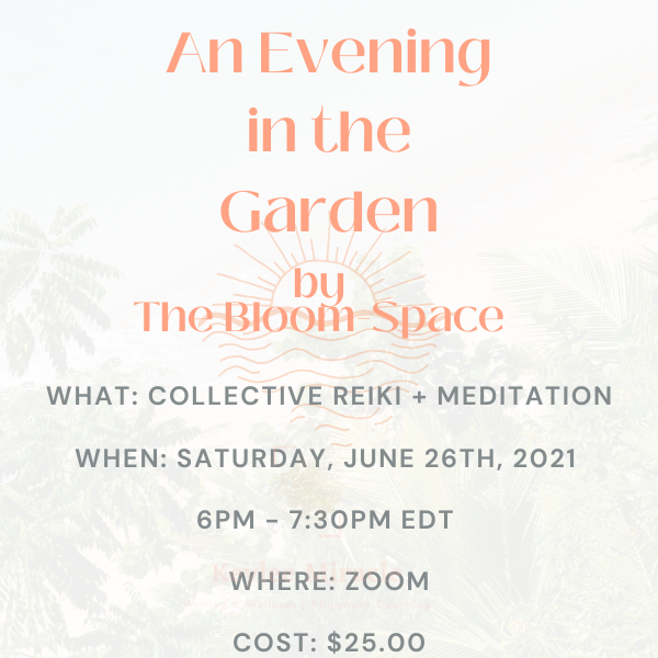 An Evening in The Garden by The Bloom-Space