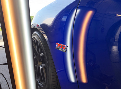 DENT - AFTER PDR REPAIR