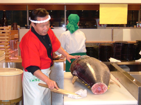 Opening Event: Tuna Filleting