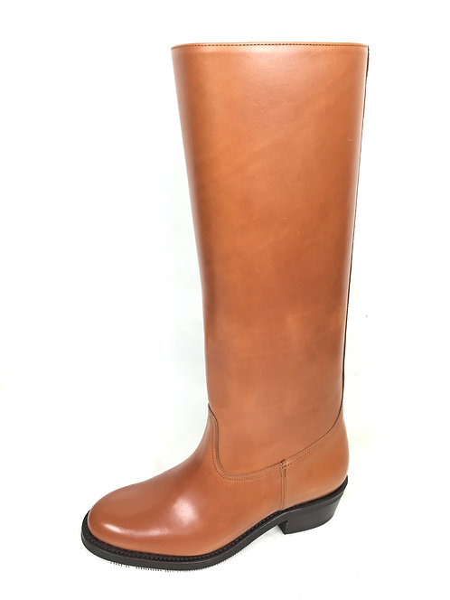 Tan Cuban Heel