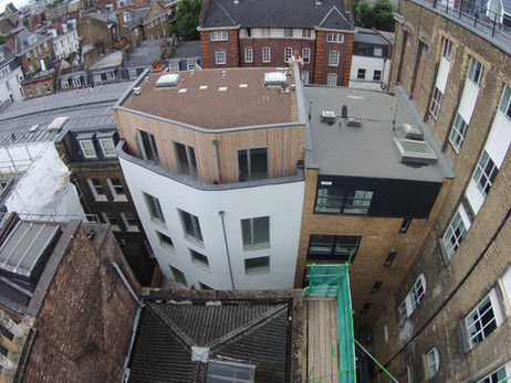 Leather Lane by Drone