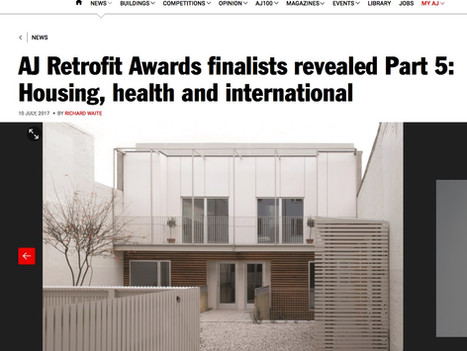 We have two finalists in the AJ Retrofit Awards