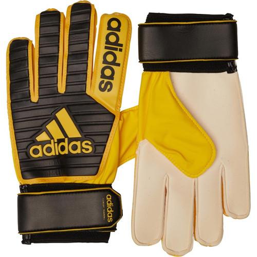 aefc2f9bde6e Returns adidas Classic Training Goalkeeper Gloves Core Black/Equipment  Yellow