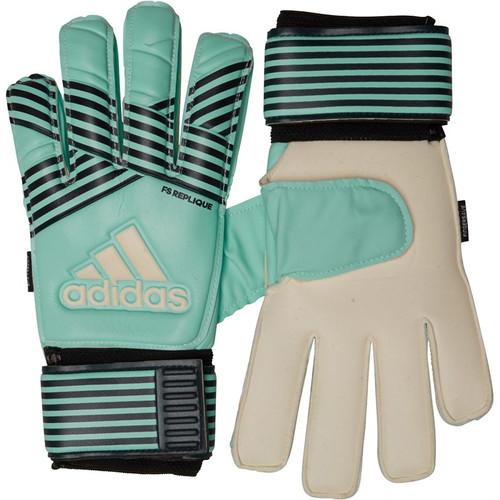 2e6cd85abdd6 adidas ACE Fingersave Replique Goalkeeper Gloves Energy Aqua/Energy  Blue/Legend