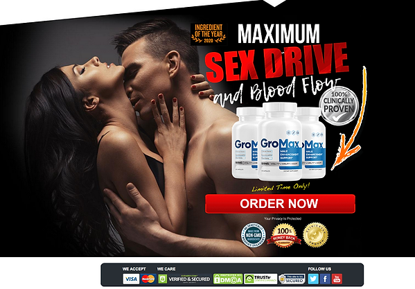 GroMax Male Enhancement Order Now