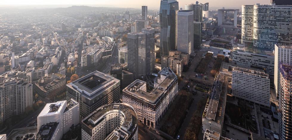 Paris la Défense, skyline - France